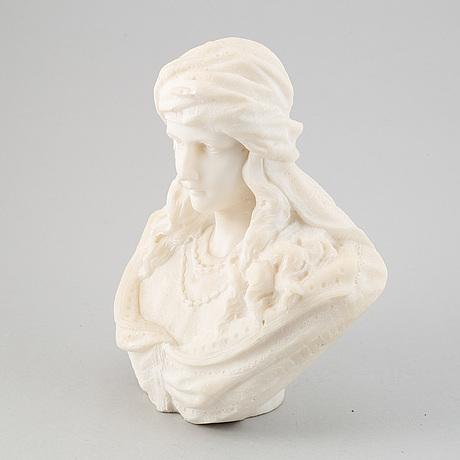 Sculpture, marble, 19/20th century.