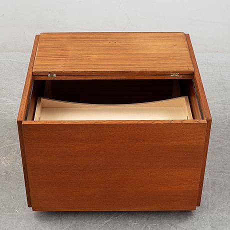 A teak bar cabinet by verner panton, studioline, 1960's.