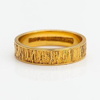 "Björn Weckström, An 18K gold ring ""Lapp gold"". Lapponia 1972."