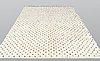 A moroccan carpet, 295 x 201 cm.