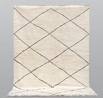 A Moroccan carpet, 294 x 204 cm.