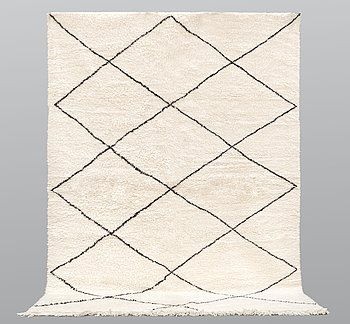 A Moroccan carpet, 292 x 210 cm.