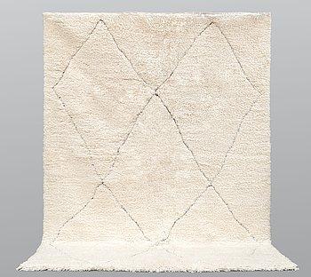 A Moroccan carpet, 315 x 215 cm.