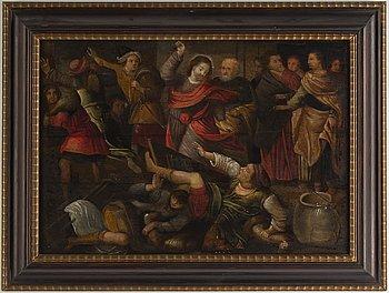Flemish school, 17th Century, oil on panel.