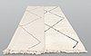A moroccan carpet, 297 x 206 cm.
