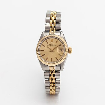 Rolex, Oyster Perpetual, Date, rannekello, 26 mm.