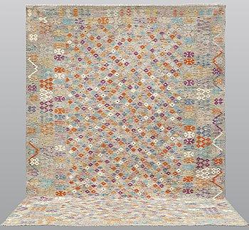 A carpet, Kilim, 350 x 256 cm.