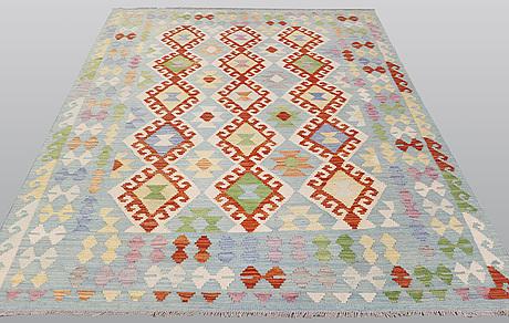 A carpet, kilim, 238 x 167 cm.