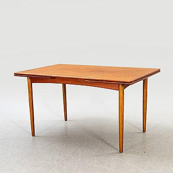 A danish 1960s  teak dining table.