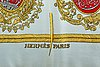 A silk hèrmes scarf france later part of the 20th century.