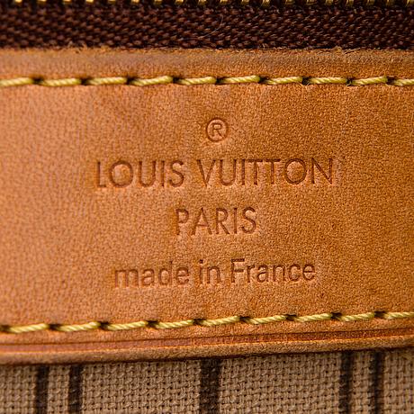 """Louis vuitton, """"neverfull gm"""", väska."""