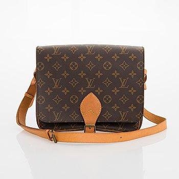 Louis Vuitton, A Monogram 'Cartouchiere' Bag.