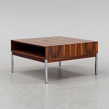 A rosewood veneered coffee table, hbm Möbler AB, Rörvik, Sweden, 1960's/70's.