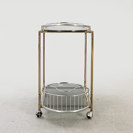 Serving trolley / drink trolley, second half of the 20th century.
