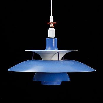 A model 'PH5' pendant light by Poul Heningsen for Louis Poulsen.