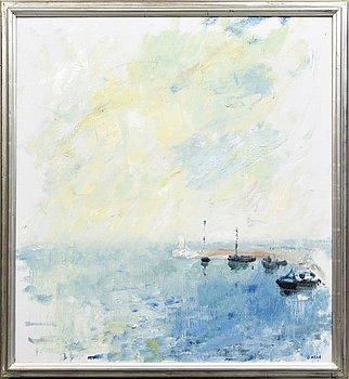 Gustav Arne, oil on canvas, signed 1987.