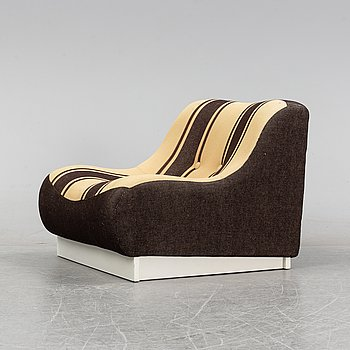 A 'Mulle' easy chair from Record AB, Bollnäs, 1970's.