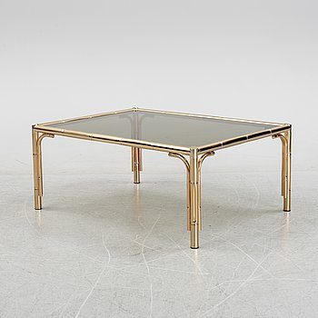 A glass coffee table, second half of the 20th Century.