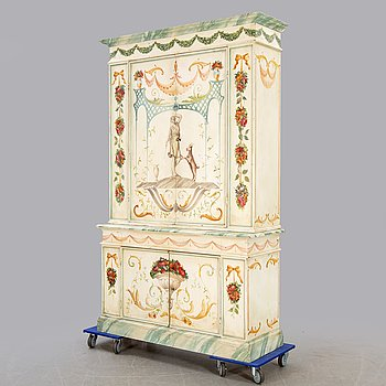 Cabinet, late 20th century.