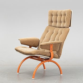 Sigurd Persson, an 'Expandra' easy chair, Åry Stålmöbler AB, circa 1970.