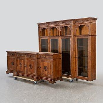 A display cabinet modern.
