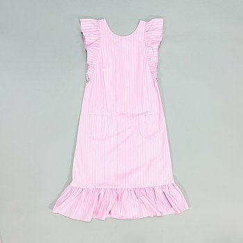 """Marimekko, """"Mariessu"""" klänning, design Liisa Suvanto, mönster """"Piccolo"""" av Vuokko Eskolin-Nurmesniemi, 1969."""