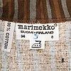 "Marimekko, shirt dress, print ""piccolo"", by vuokko eskolin-nurmesniemi."