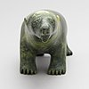 Unknown artist, an inuit soapstone sculpture, signed, 20th century.