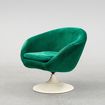 Robert Tillberg & C-E Klote, an easy chair, Overman AB, Tranås. Second half of the 1960s.