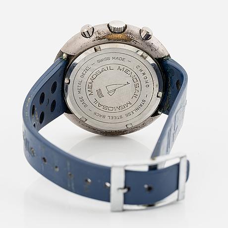 "Memosail, ""regatta"", sailing chronograph, wristwatch, 45,6 mm."