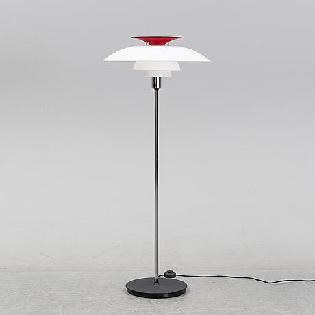 Poul henningsen, a 'ph 80' floor light for louis poulsen, denmark.