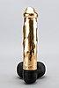 Sculpture, 18 c gold malmö, weight 179 g.