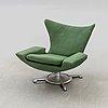 An 1960:s easy chair probably by hans erik johansson, westberg furniture, tranås sweden.