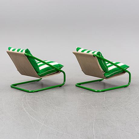 """Charlotte rude & hjördis olsson-une, fåtöljer, ett par, """"gogo"""", ikea, 1980-tal (modellen lanserad 1981)."""