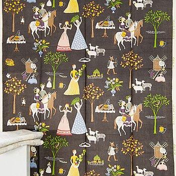 "Gocken Jobs,  textil tre våder, ""Fru Lusta"" 1960-tal."
