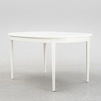 Carl Malmsten, a 'Herrgården' dining table, Bodafors, 1960.