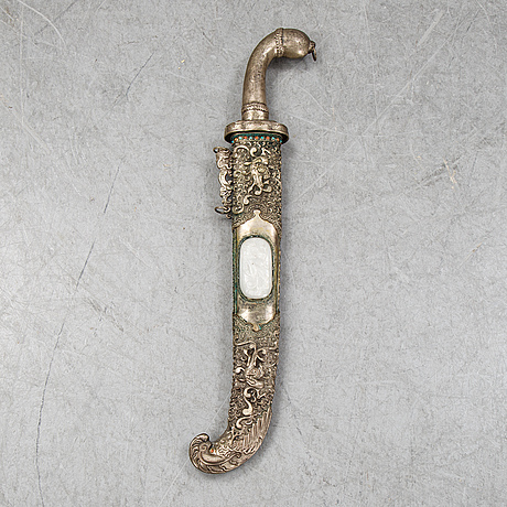 A tibetanian sword, from around the year 1900.