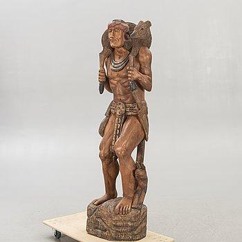 Skulptur, trä, 1900-talets andra hälft.