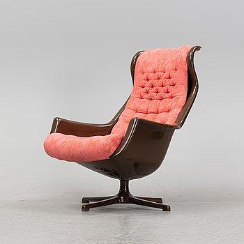 A 'Form 8' /'Galaxy' armchair by Alf Svensson and Yngvar Sandström, DUX, 1970's.