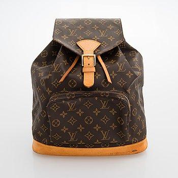 Louis Vuitton, Monogram Canvas 'Montsouris' Backpack.