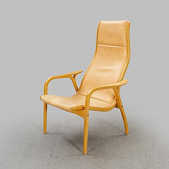 Yngve Ekström, Lamino armchair for Swedese in the latter part of the 20th century.