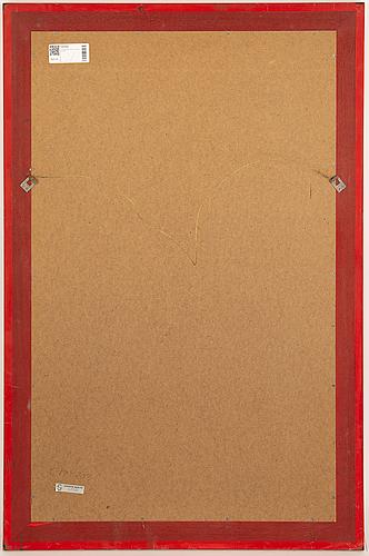 Poul nørreklit, spegel, centrum møbler, danmark, 1970-tal.