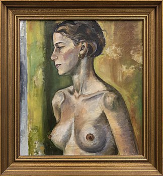 Sylvia Stave, a signed and dated oil on canvas.