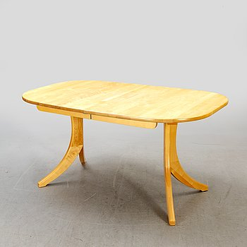 A birch daning table by Stolab, Sweden 2006.