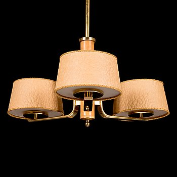 Paavo Tynell, a mid-20th century pendant light for Taito.