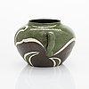 Alfred william finch, a ceramic pot, iris 1901.