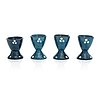 Alfred william finch, a set of four egg cups from around year 1900, iris, finland.