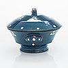 Alfred william finch, a lidded serving bowl from around year 1900, iris, finland.