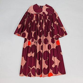 """Marimekko, klänning, mönster """"Keidas"""", av Annika Rimala, 1967."""