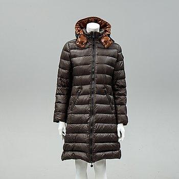 Moncler, a down coat, size 3.